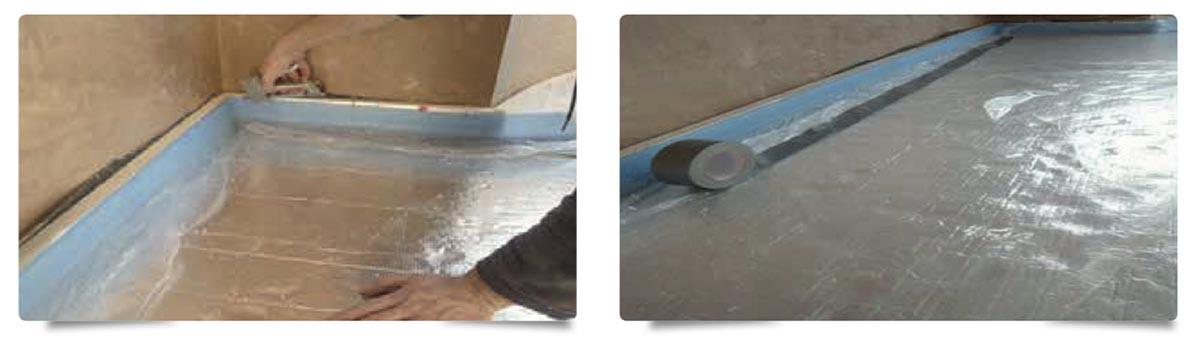 INSTALLING-EDGING-STRIP-AND-PLASTIC-MEMBRANE