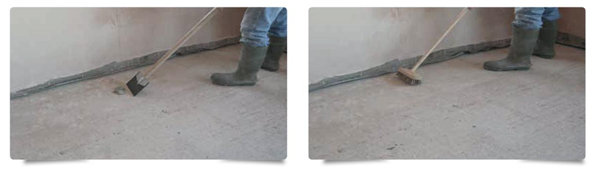 Liquid Floor Screed SUB-FLOOR-PREPARATION